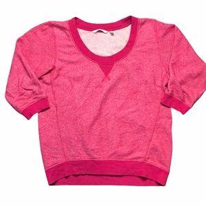 Victoria's Secret Pink Swoop Neck Sweater - SZ S